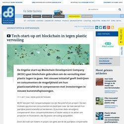 Tech-startup zet blockchain in tegen plastic vervuiling