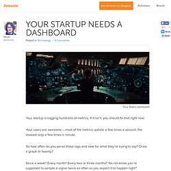 Your startup needs a dashboard | Fruit Business