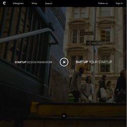 Startup Design Framework - Suit Up your Startup!