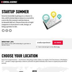 Startup Summer