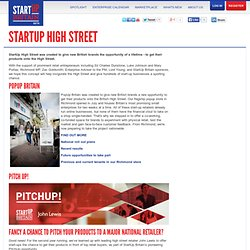 StartUp High Street