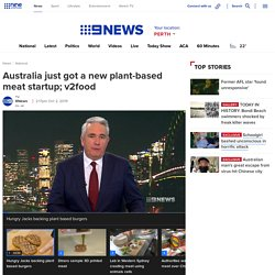 v2food newest plant based meat startup innovates with CSIRO scientists