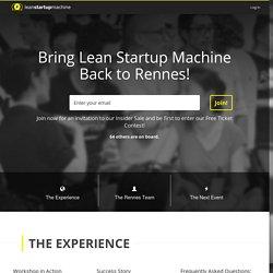 Rennes Lean Startup Machine