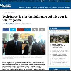 Tech-Innov, la startup nigérienne qui mise sur la télé-irrigation