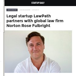 Legal startup LawPath partners with global law firm Norton Rose Fulbright