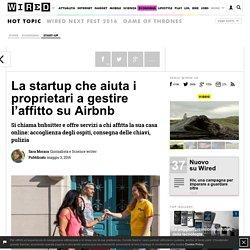 La startup che aiuta i proprietari a gestire l'affitto su Airbnb