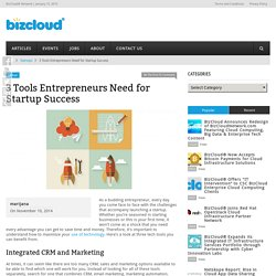 3 Tools for Startup Success