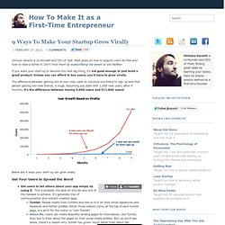 9 Ways To Make Your Startup Grow Virally