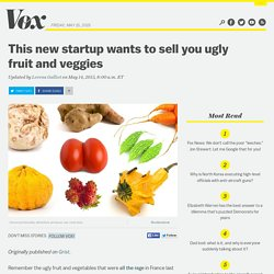This new startup wants to sell you ugly fruit and veggies