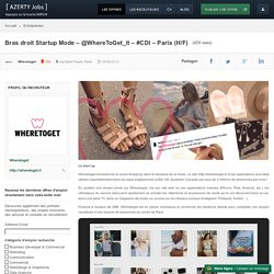 Bras droit Startup Mode – @WhereToGet_it