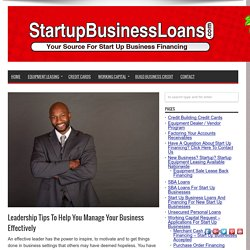 equipment financing for start up businesses