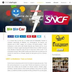StartupMatch : SNCF vs BlaBlaCar.