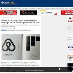 Quand les startups américaines copient leur logo sur un livre de graphisme de 1989