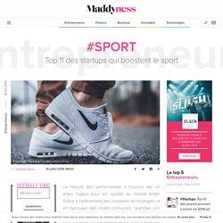 #Sport : Top 11 des startups qui boostent le sport - Maddyness