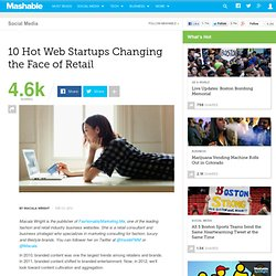 10 Hot Web Startups Changing the Face of Retail