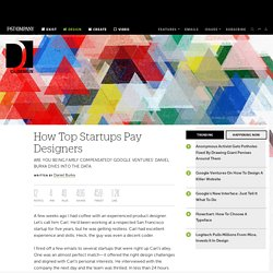 How Top Startups Pay Designers