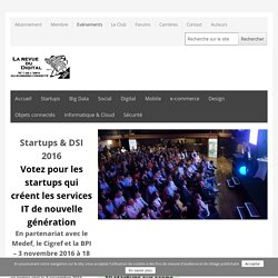 Startups & DSI 2016