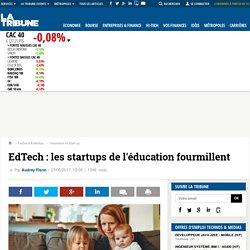 EdTech: les startups de l'éducation fourmillent