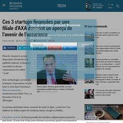 Ces 3 startups financées par une filiale d'AXA donnent un aperçu de l'avenir de l'assurance - Business Insider France