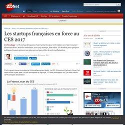 Les startups françaises en force au CES 2017 - ZDNet