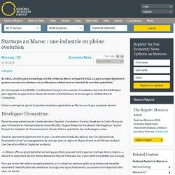 Startups au Maroc : une industrie en pleine évolution