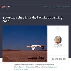 Exemple lancement de produit sans code