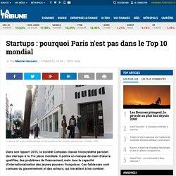 Startups : pourquoi Paris n'est pas dans le Top 10 mondial