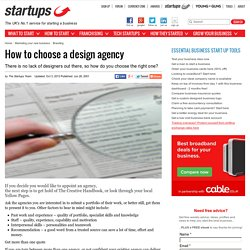 How to choose a design agency