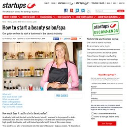 How to start a beauty salon/spa - Page 2 of 8 - Startups.co.uk: Starting a business advice and business ideas - page 2