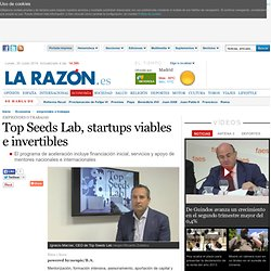 Top Seeds Lab, startups viables e invertibles