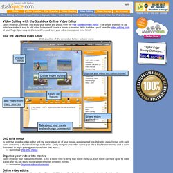 Video Editor - StashBox Online Video Editor