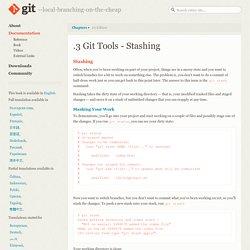 Git - Stashing