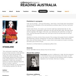 Stasiland - Reading Australia