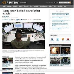 Biggest-ever series of cyber attacks uncovered, U.N. hit