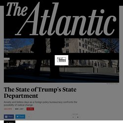 The State of Trump's State Department - The Atlantic