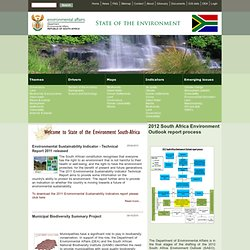 State of the Environment South Africa