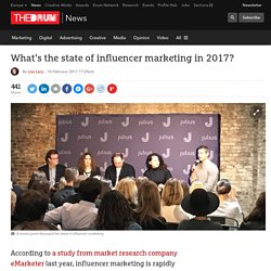 What's the state of influencer marketing in 2017?