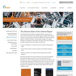 State of the Internet - Official Akamai Internet Traffic Report