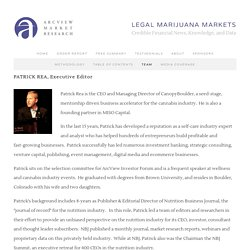 Team — The State of Legal Marijuana Markets
