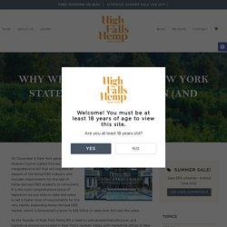 Why we love the new New York State hemp legislation (and you should too) - High Falls Hemp