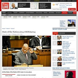 State of the Nation 2014 #SONA2014