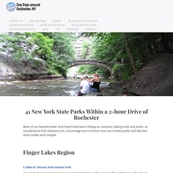 41 New York State Parks Within a 2-hour Drive of Rochester · Day Trips Around Rochester, NY