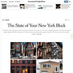 The State of Your New York Block