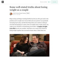 Some well-stated truths about losing weight as a couple