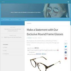 circle frames glasses