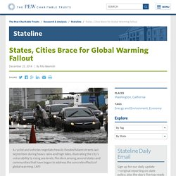 States, Cities Brace for Global Warming Fallout