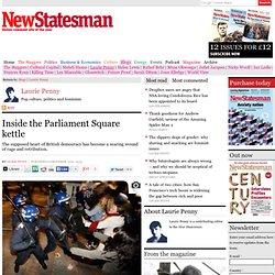 Inside the Parliament Square riot