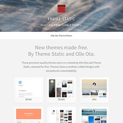 Theme Static- Free grid and column themes for Tumblr
