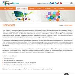 Static Website - Digital Atrium
