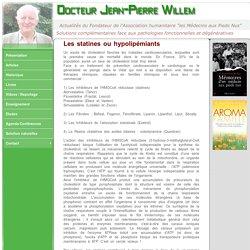 Les statines - Dr Jean-Pierre WILLEM